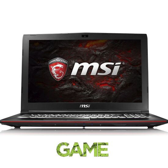 MSI Leopard GP62M 7RD 15.6 Gaming Laptop Black