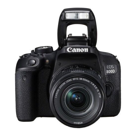 Canon EOS 800D + 18-55 mm