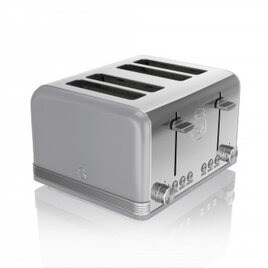 Retro ST19020GRN 4-Slice Toaster - Grey Reviews