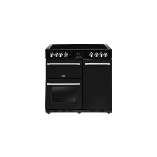 Belling Farmhouse 90E 90cm Electric Range Cooker With Ceramic Hob