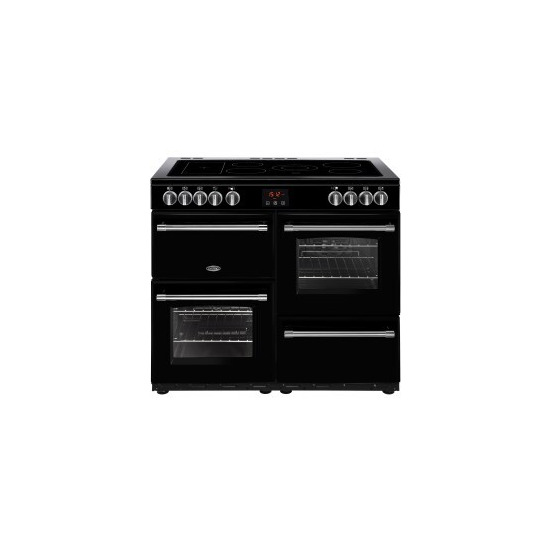 Belling Farmhouse 100E 100cm Electric Range Cooker With Ceramic Hob
