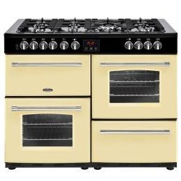 Belling Farmhouse 110DFT 110cm Dual Fuel Range Cooker Cream Reviews