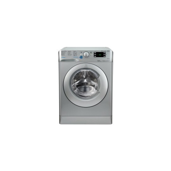 Indesit BWE91484XSUK Innex 9kg 1400rpm Freestanding Washing Machine Silver