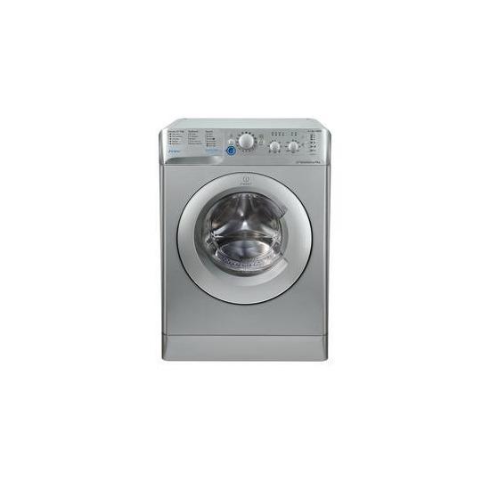 Indesit BWC61452SUK Innex 6kg 1400rpm Freestanding Washing Machine Silver