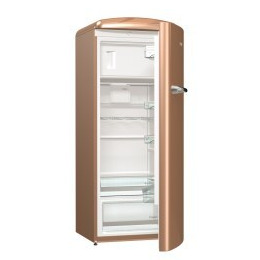 Gorenje ORB153CO Retro Freestanding Fridge With Freezer Box 154cm Right Hand Royal coffee Reviews