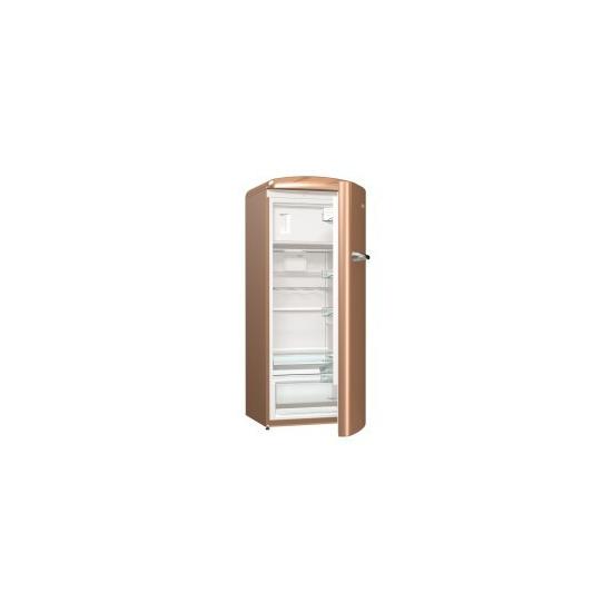 Gorenje ORB153CO Retro Freestanding Fridge With Freezer Box 154cm Right Hand Royal coffee
