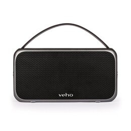 Veho M7 Wireless Bluetooth Water Resistant Speaker with Power Bank - Black