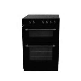 Servis GR60CK 60cm Classic Black Electric Cooker With Double Oven And Ceramic Hob Reviews