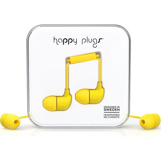 Happy Plugs HP7721 Headphones - Yellow