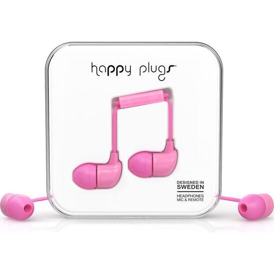 Happy Plugs HP7717 Headphones - Pink