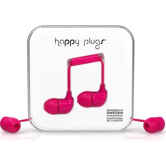 Happy Plugs HP7724 Headphones - Cerise