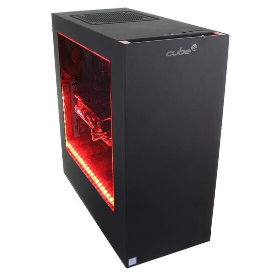 Cube Jaguar VR Ready Gaming PC AMD Ryzen 7 Eight Core with Geforce GTX 1080 8Gb Graphics Card