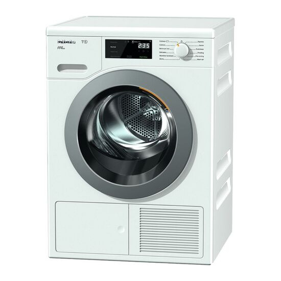 Miele Eco TCF620WP Heat Pump Tumble Dryer - White