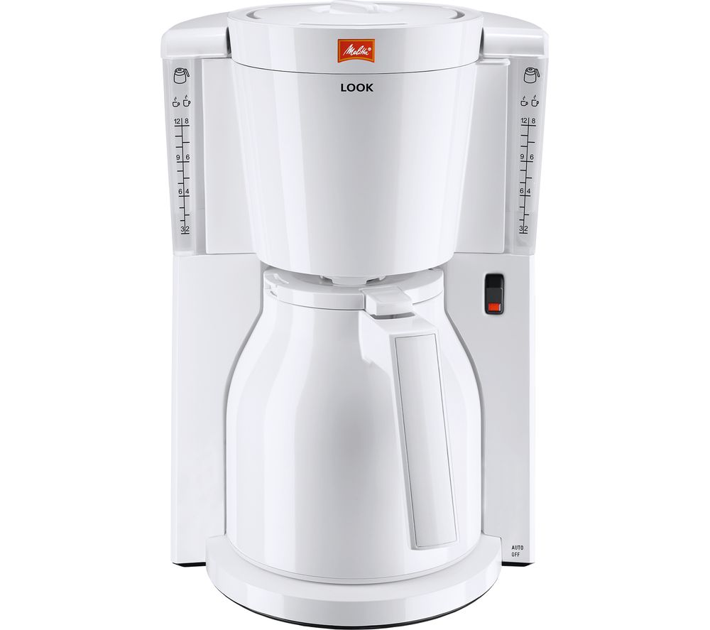 Melitta Look Iv Therm Filter Coffee Machine White Reviews