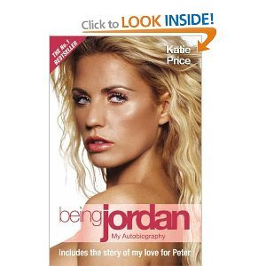 Photo of Being Jordan Katie Price Book