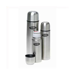 Photo of Thermos Stainless Vacuum Flask - 0.35L Camping and Travel