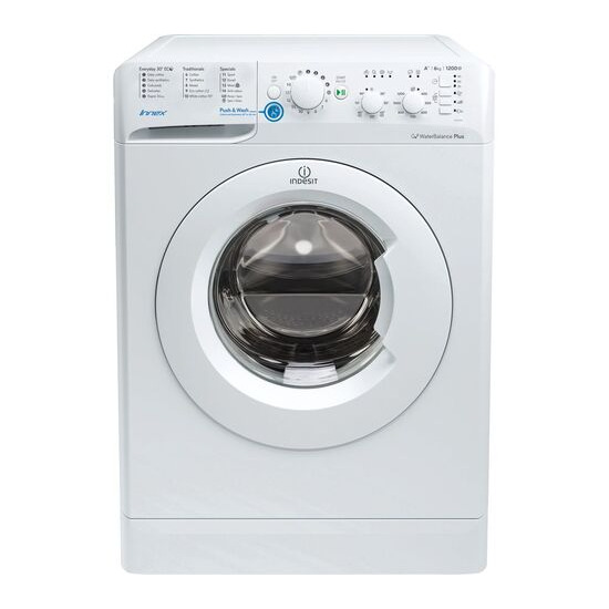 Indesit BWC 61452 W 6 kg 1400 Spin Washing Machine