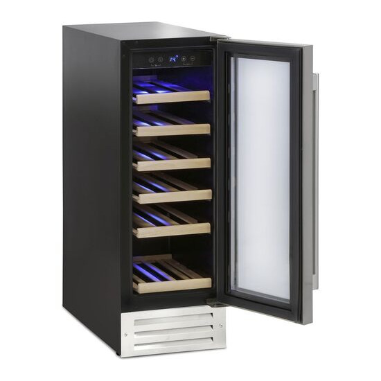 MONTPELLIER WS19SDX Wine Cooler - Stainless Steel