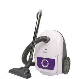 Russell Hobbs RHBCV2502 Cylinder Vacuum Cleaner - White & Purple Reviews