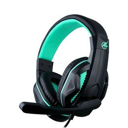 PORT DESIGNS Arokh H-1 Gaming Headset - Black & Green