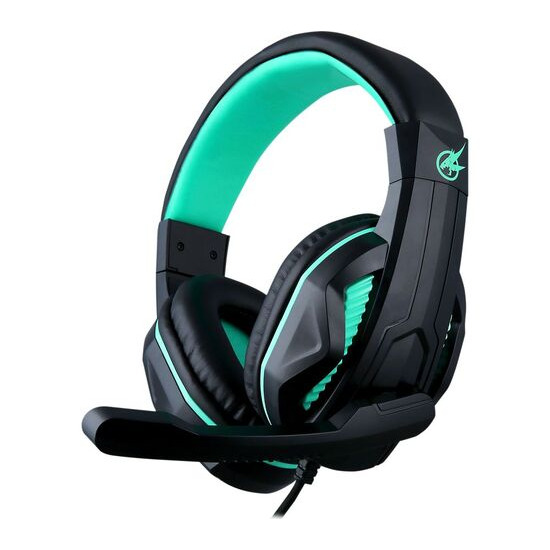 PORT DESIGNS Arokh H-1 Gaming Headset - Black & Green