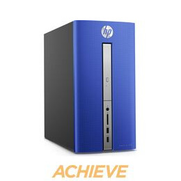 HP Pavilion 570-p057na Desktop PC - Blue Reviews