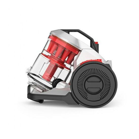VAX Air Total Home CCQSAV1T1 Cylinder Bagless Vacuum Cleaner - Graphite & Red
