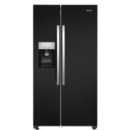 Hisense RS696N4IB1 Side By Side American Fridge Freezer With Ice and Water Dispenser Black Reviews