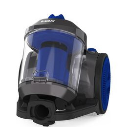 VAX Power Compact Pet CCMBPCV1P1 Cylinder Bagless Vacuum Cleaner - Silver & Blue Reviews
