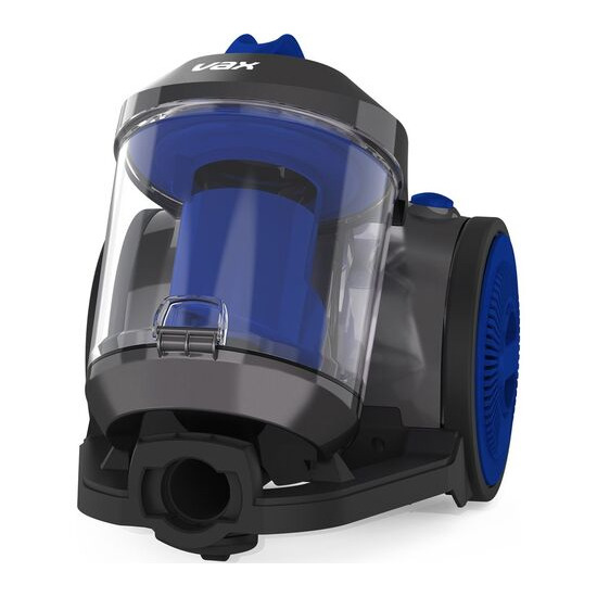 VAX Power Compact Pet CCMBPCV1P1 Cylinder Bagless Vacuum Cleaner - Silver & Blue