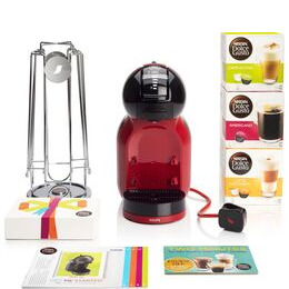 DOLCE GUSTO by Krups Mini Me KP120BUN Hot Drinks Machine - Red Reviews