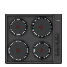 Bosch PEE686CA1 Black Solid plate hob Reviews