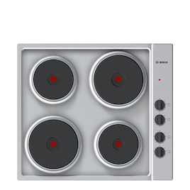 Bosch PEE689CA1 Brushed steel Solid plate hob Reviews