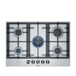 Bosch PCQ7A5B90 Gas Hob - Stainless Steel Reviews