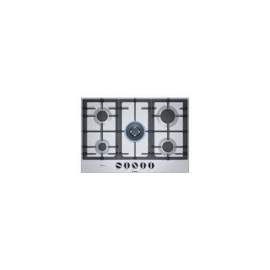Bosch PCQ7A5B90 Gas Hob - Stainless Steel