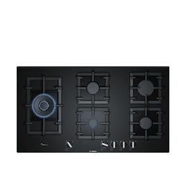 Bosch PPS9A6B90 Black glass 5 burner gas hob Reviews