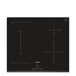 Bosch PWP631BF1B Black glass 4 zone induction hob Reviews