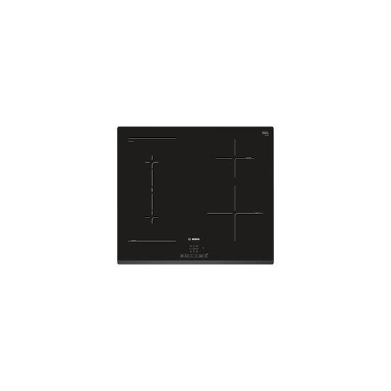 Bosch PWP631BF1B Black glass 4 zone induction hob