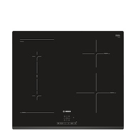 Bosch PWP631BB1E Black glass 4 zone induction hob Reviews