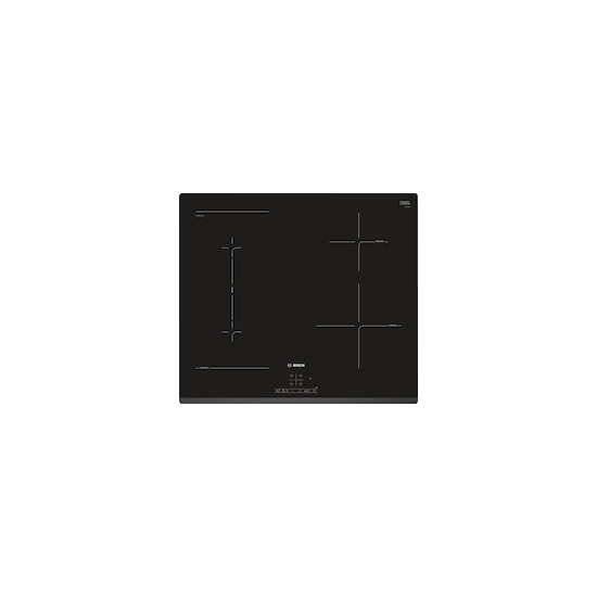Bosch PWP631BB1E Black glass 4 zone induction hob