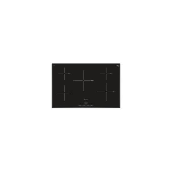 Bosch PIV851FB1E Black glass 5 zone induction hob