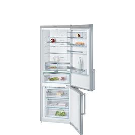 Bosch KGN49AI30G Stainless steel look Freestanding frost free fridge freezer Reviews