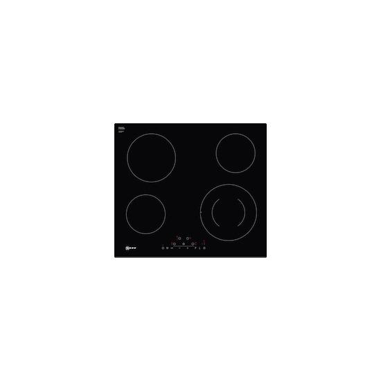 Neff T16FD56X0 Black glass 4 zone ceramic hob