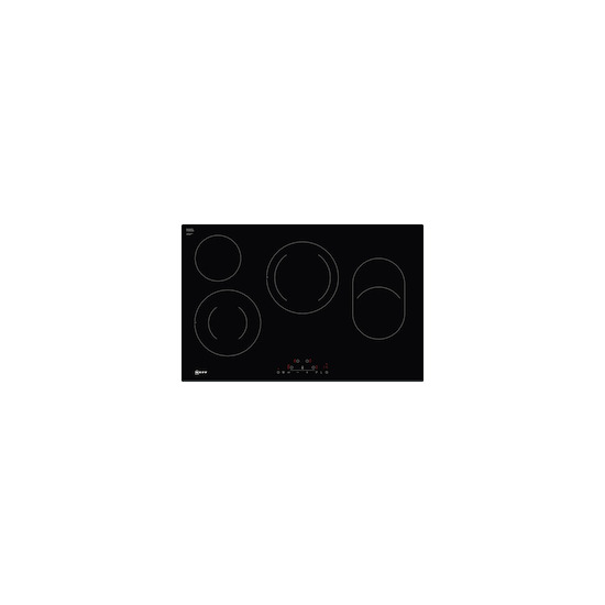 Neff T18FD36X0 Black glass 4 zone ceramic hob