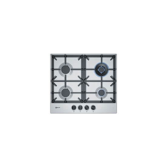 Neff T26DS59N0 Stainless steel 4 burner gas hob