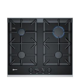 Neff T26TA49N0 Black glass and steel 4 burner gas hob Reviews