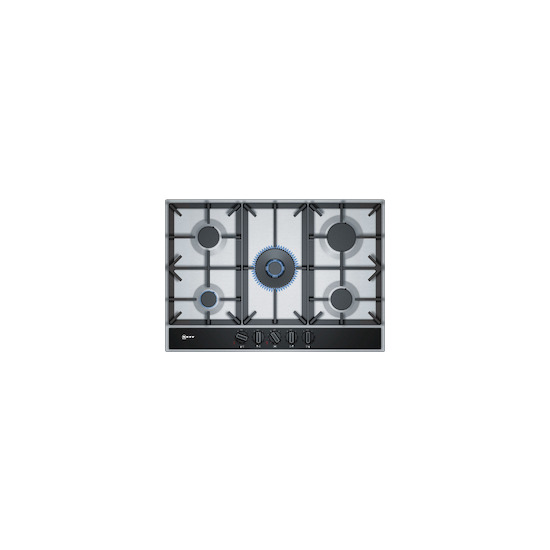 Neff T27DA69N0 Stainless steel 5 zone induction hob