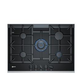 Neff T27TA69N0 Black glass and steel 5 burner gas hob Reviews