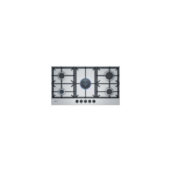 Neff T29DS69N0 Stainless steel 5 burner gas hob