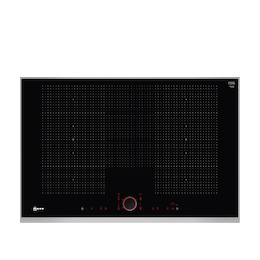 Neff T68TS61N0 Black glass and steel 5 zone induction hob Reviews